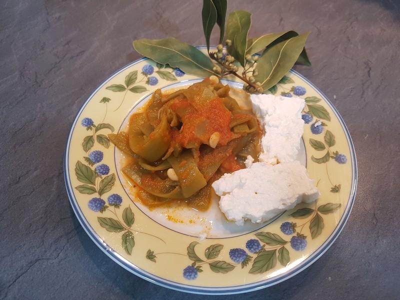 Fasolakia Ladera – Judías Verdes con Tomate a la Griega