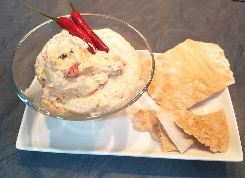 Tirokafteri, una deliciosa crema de queso picante