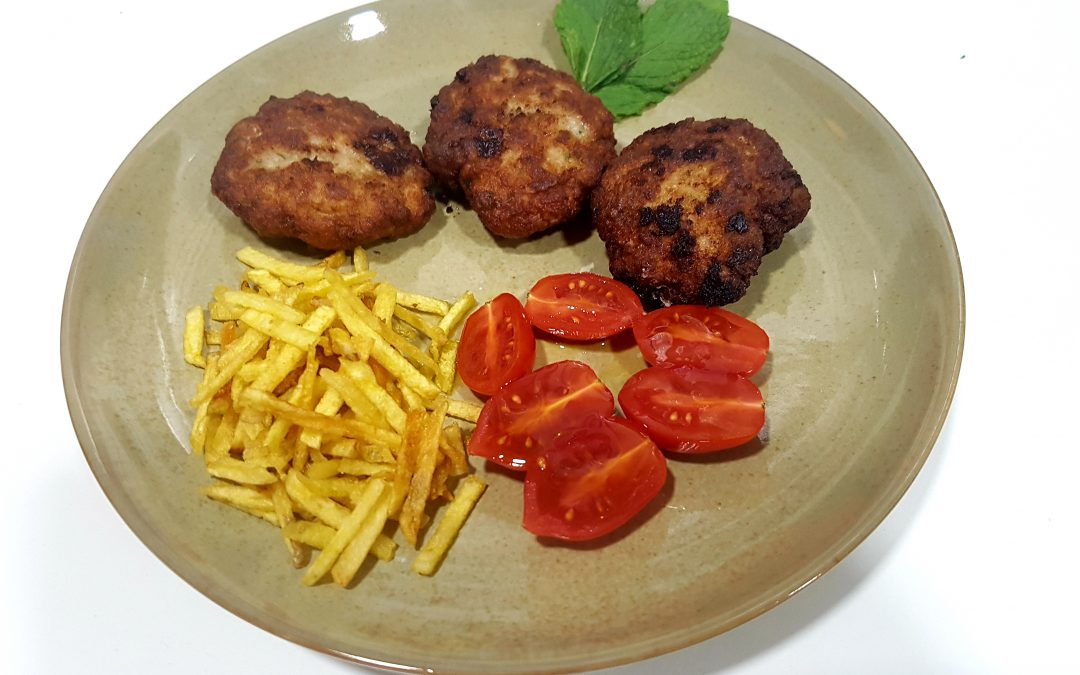 Biftekia, hamburguesitas griegas